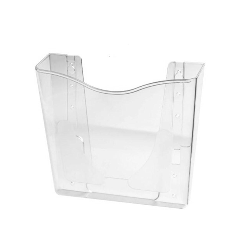 Porta Folheto de Parede com Bolsa A5 Vertical (15x21cm)