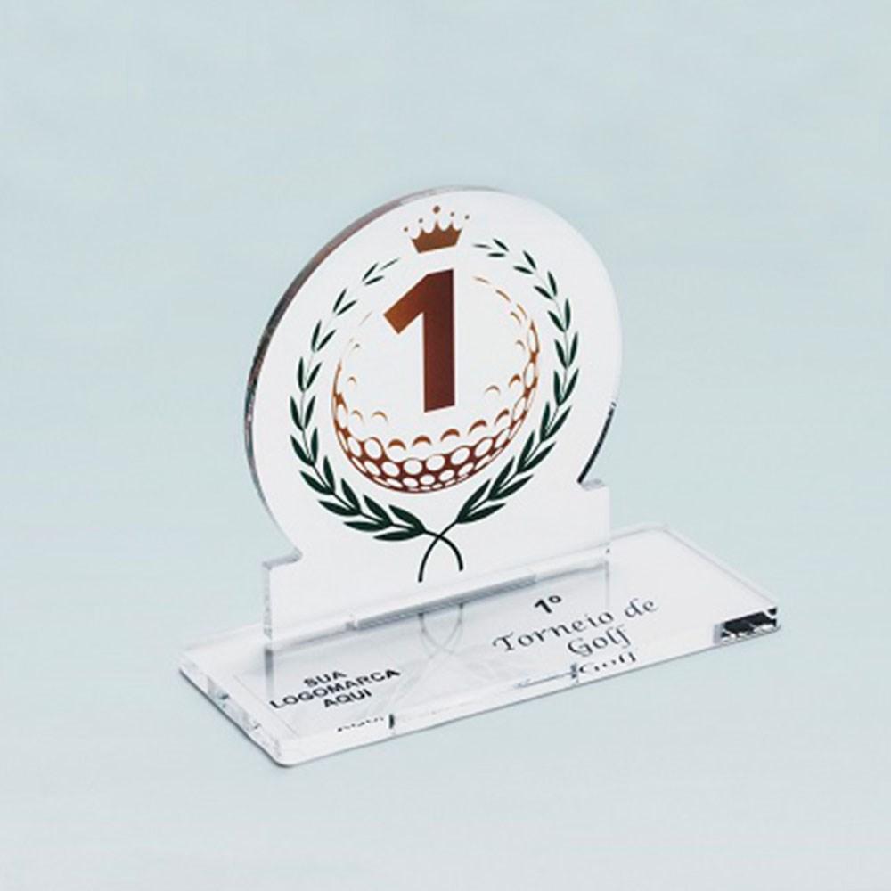 Troféu em Acrílico Para Premiação de Campeonatos