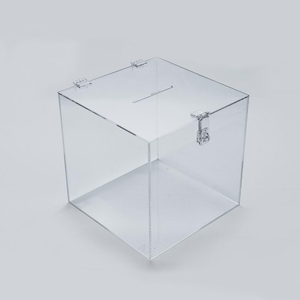 Urna em Acrílico Cristal 15x15cm