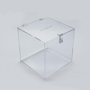 Urna em Acrílico Cristal 20x20cm